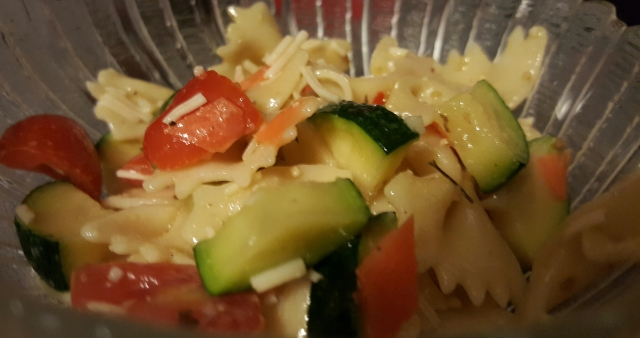 Zucchini and tomato pair perfectly