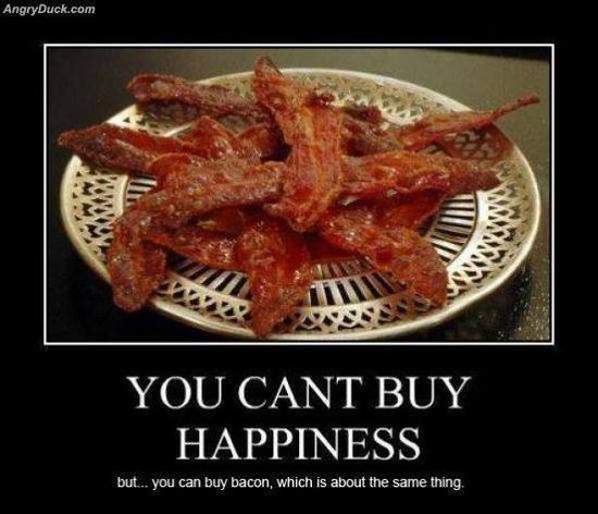 You can TOTALLY buy bacon